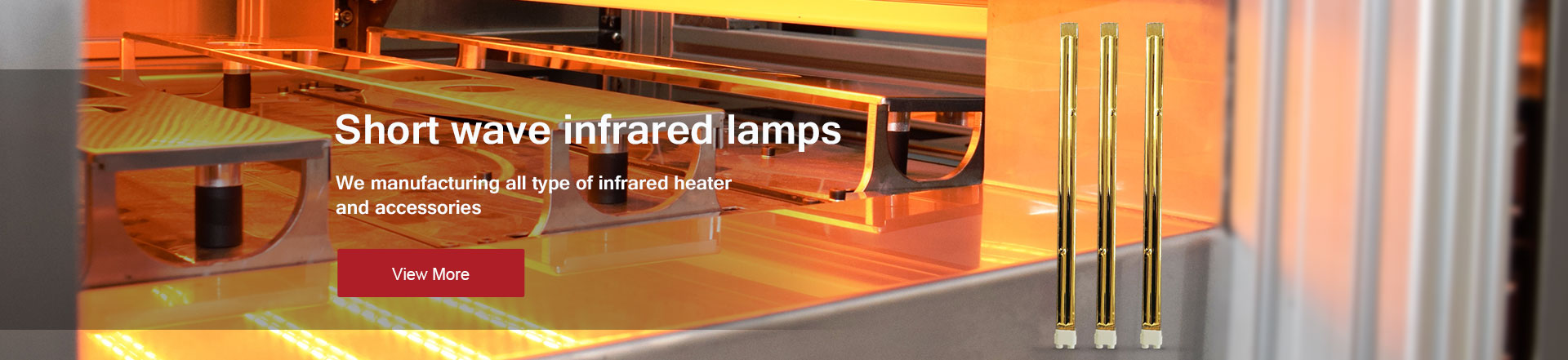 We manufacturing all type of infrared heater and accessories
